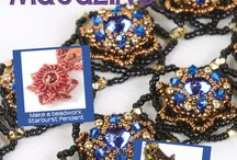 Issue 6 / Bead Me 6 is now available for download www.beadme.tv #beadwork #design #lampwork #polymerclay #jewelry #create #make / by Bead Me Magazine