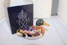 Royal Crown Derby Paperweights