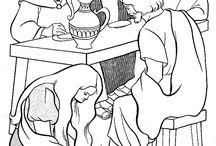 Zalving door Maria (Maria anoints Jesus)