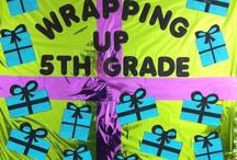 bulletin boards (5th grade) / by Lora Patricia