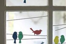 Výzdoba oknáJeseň