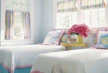 bedrooms / by Caroline Streak-Jensen