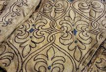 XVII  century embroidery