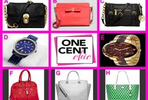 FASHIONISTA FEVER / Michael Kors, Kate Spade and Calvin Klein Bags and Watches Saturday Night Special March 1 at 10:30 PM EST OneCentChic.com