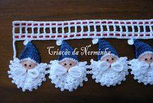 neelework - CROCHET - ornaments - all seasons  - wall hangings