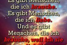 Liebes-/Sprüche