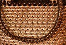 Guld taske af clips