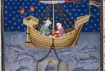 Medieval ship and vessel