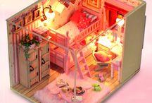 maquette chambre fille