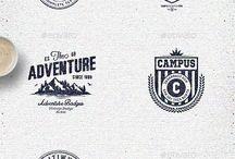 Logo, badge i vintage