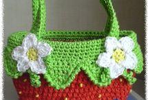 Crochet bags / by Debbie Richardson