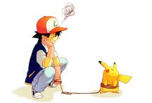 Ash & Pikachu (Pokémon) ❤