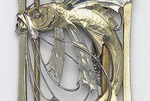 Jewellery - Art Nouveau / by Jessica Drake