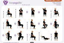 Yoga Usando La Sedia