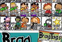 brag tags / brag tags, classroom management system, editable brag tags, brag tags for kindergarten,  brag tag displays, brag tags for math, brag tags for general classroom behavior, writing, reading, growth mindset, character education