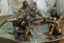 Bronze Sculptures by Chora Art Home Design