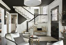 Carrie McCall Design - Foyers / Foyers designed by CKM Home Design in Summit, New Jersey.