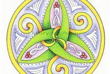 Celtic mandalas / Mandalas