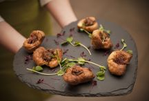 Food Inspiration February 2015 / Dishes from our 2016 menus.   Photos by Mark Dunne Photography.