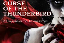 Curse of the Thunderbird (A Shamans of the Divide Novel) / Asha Sevenstars is searching for answers.  On the trail of her guardian's killer, she has her work cut out for her as she searches for the destructive spirit known as Red-Woman.  The trail runs cold in Hitch Falls, South Dakota and Asha finds herself caught in the middle of war between an ancient evil and the town's new savior–an even older spirit known as the Thunderbird.