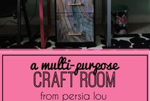 Craft room / by Hailey Thornton