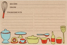 For my recipe box  / by Sarah Hedgis