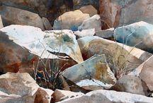 Rocas y montañas