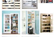 Closet organisation / by Sienna Brulee