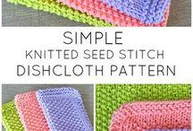 Dishcloth knitting patterns