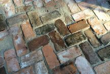 Reclaimed Patio with Recycled Savannah Bricks