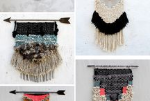 { wall hangings } / Inspiration for woven hangings