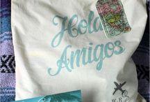 Hotel bag for destination wedding in Mexico