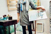 Artsy Boho Fashion / My style / by Sara Buzzitta