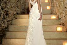 White Bridal Silhouettes