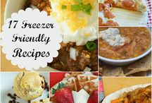 Recipes for multiple dinners / Meals you can make ahead and freeze