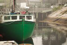 Green Brass Boat