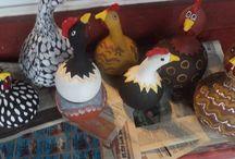Bird house gourds