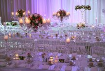 Flower Arrangmenets by RoyaltyOrganization / Some flower arrangement examples from RoyaltyOrganization weddings