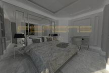 FERENS DESIGN / PLAC GRZYBOWSKI / architekt FERENS design joanna ferens - hofman warszawa wizualizacje