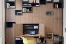 Bibliothèques & bureaux.