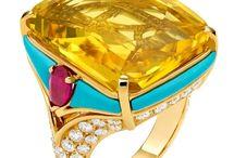 Sapphire, Yellow / Yellow Sapphire Rings & Jewelry