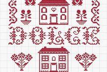Cross stitch - cities