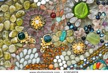 Mosaic ; Glass and Stone / by Chamara Pansegrouw (Gypsy Purple)