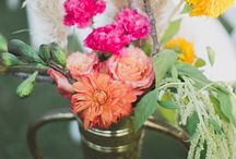 wed flower decor