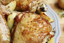 Pollo arrosto / Secondi