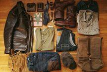 casual rugged wear
