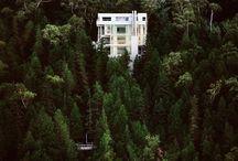 getaway house / by Hannah Faires