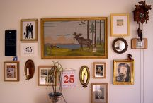 gallery walls / by Kerry Crawford