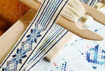 Pickup weaving