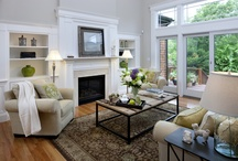 Inviting & Energy Efficient Living Spaces / We want to feel comfortable in our homes, and when comfort, style and energy efficiency (and cost savings) combine - even better!